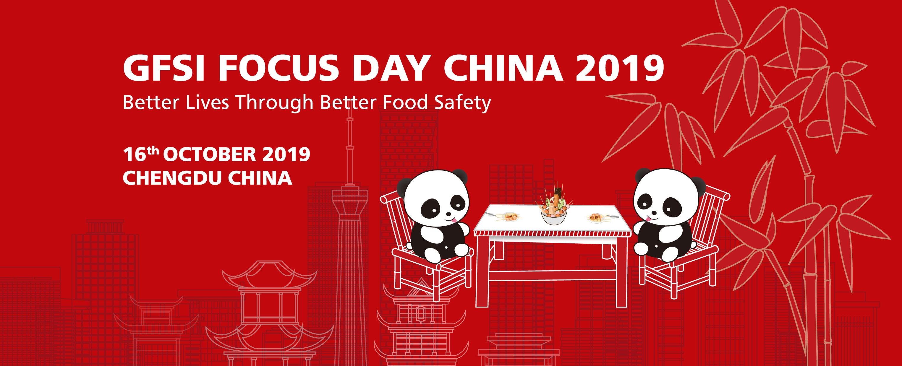 GFSI FOCUS DAY CHINA 2019