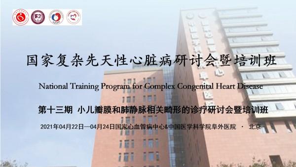 第十三期 小儿瓣膜和肺静脉相关畸形的诊疗研讨会暨培训班